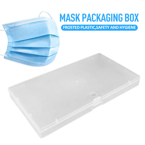 Custom Logo Portable Storage Case Face Mask Carry Box Masks Container