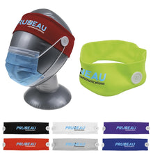 Load image into Gallery viewer, Custom Logo Promotional Headband With Buttons