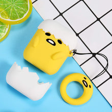 Load image into Gallery viewer, Airpod 1/2 Case Cover For Lazy Egg Fun Cartoon Character