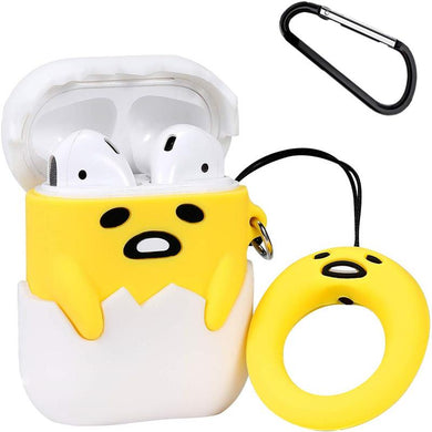 Airpod 1/2 Case Cover For Lazy Egg Fun Cartoon Character