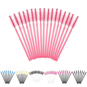 100 Disposable Eyelash Brush Mascara Wands Applicator  Makeup Tools