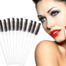 Load image into Gallery viewer, 100 Disposable Eyelash Brush Mascara Wands Applicator  Makeup Tools