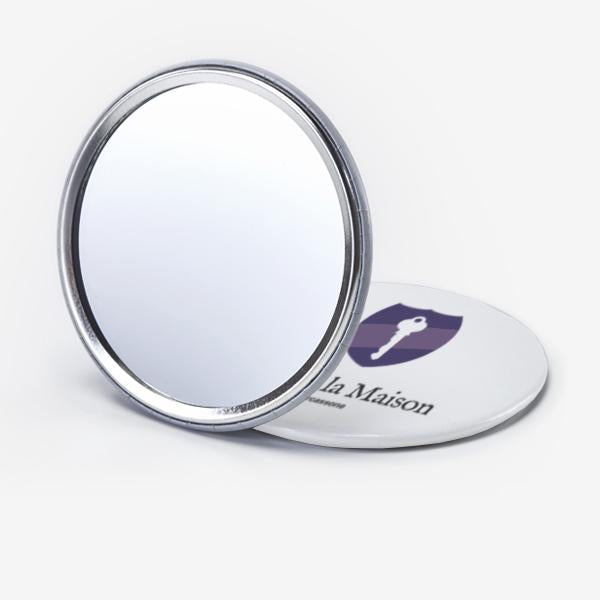 Promotional Custom Logo Mini Portable Mirror