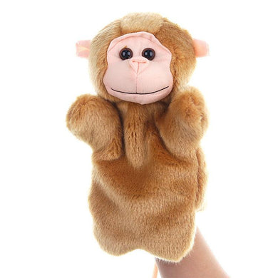 Monkey Hand Stage Puppet Playing, Teaching Plush Toys