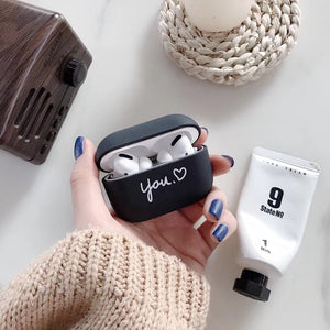 Airpod Pro & Airpod 1/2 Case Cover With Love You, Love Me