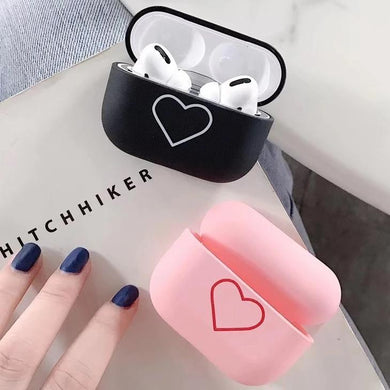 Airpod Pro & Airpod 1/2 Case Cover For His And Hers Love Heart