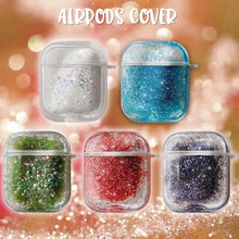 Load image into Gallery viewer, Airpod Pro & Airpod 1/2 Fancy Glitter Case Cover Red, Blue, White, Black, Green