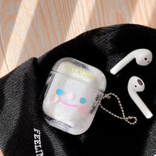 Load image into Gallery viewer, Airpod Pro & Airpod 1/2 Keep Smile Fancy Glitter Case Cover