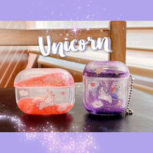 Load image into Gallery viewer, Airpod Pro & Airpod 1/2 Unicorn Glitter Case Cover Red, Purple