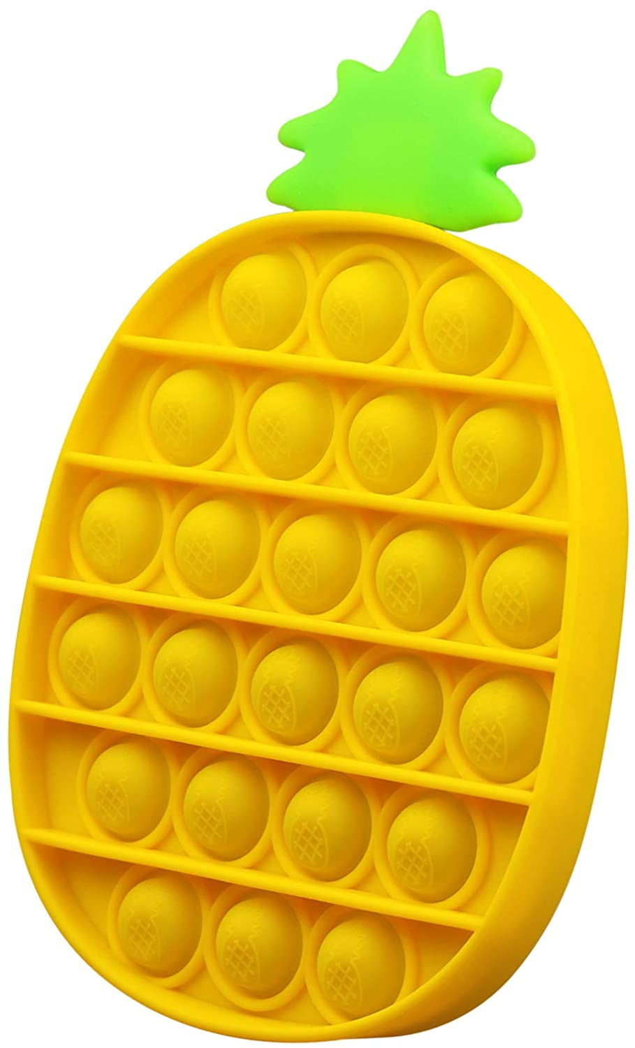 Wholesale Pineapple Pop it Sensory Fidget Toy Silicone Stress Reliever Toys Gifts