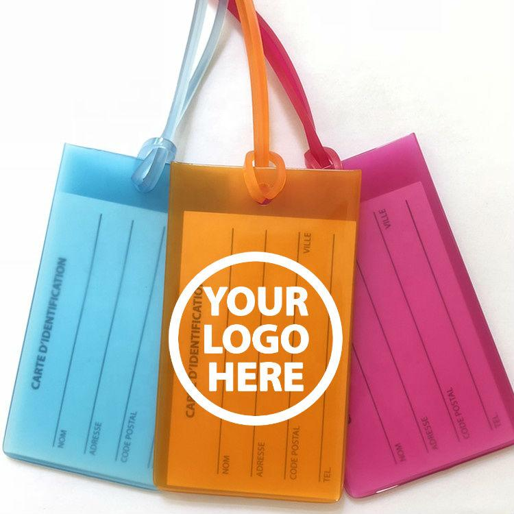 Promotional Custom Logo luggage tags