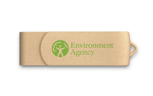 Load image into Gallery viewer, Custom Eco Friendly Usb, Logo Recycled Thumb Drive, Promotional Flash Drives