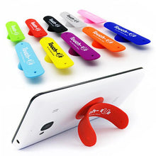 Load image into Gallery viewer, Promotional Custom Logo Silicone Phone Stand