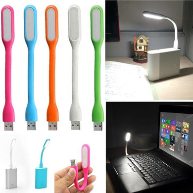 Mini USB LED Light, Adjustable Angle Portable Flexible LED