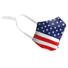 Load image into Gallery viewer, 3D Flag Printed Face Mask, Washable Cloth Reusable Dust Proof  Face Cover With 2 Extra Filters