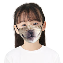 Load image into Gallery viewer, 3D Dog Nose Printed Face Mask, Washable Cloth Reusable Dust Proof  Face Cover With 2 Extra Filters