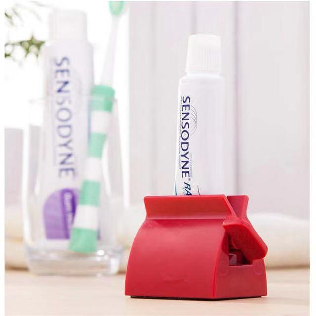 Custom Logo Promotional Rolling Toothpaste Tube Squeezer Easy Squeeze Dispenser Bathroom Accessory
