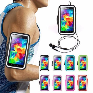 Custom Logo Sport Armband Phone Cases Mic Colors