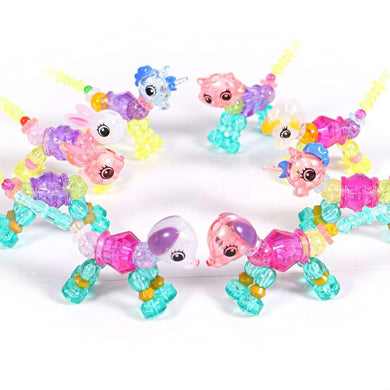 New Twisty Petz Bracelet for Kids Magical Bracelet Beads - Mix