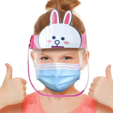 Kids Face Shield Dust-Proof Anti-Splash Reusable Face Mask For Girls And Boys