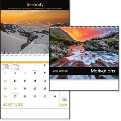 Custom Logo 2020 Good Value Calendars