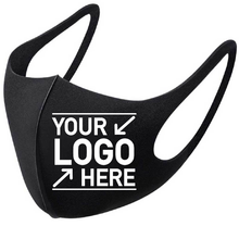 Load image into Gallery viewer, Custom Promotional Cheap Face Masks, Logo Reusable Face Mask - 1 Ply