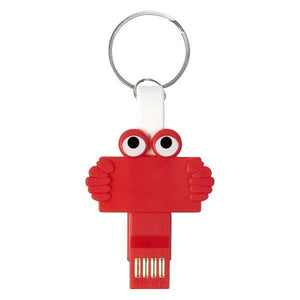 Bulk DIY Clipster Buddy 3-In-1 Charging Cable Key Ring - 100 Pack