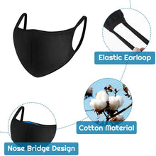 Load image into Gallery viewer, Bulk Cotton Face Mask Protects From Dust, Pollution And Cold - 2 Ply