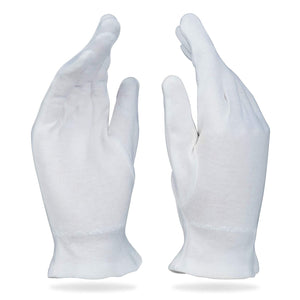 Custom Logo Cotton Gloves Protects From Dust, Pollution And Cold - Washable & Reusable
