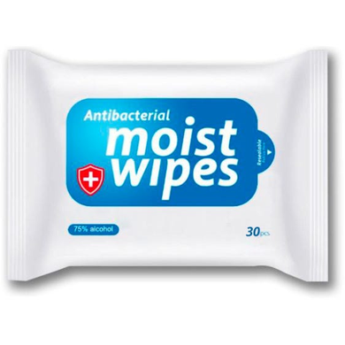 Bulk Alcohol Wipes 10 Pack of Antibacterial Wet Wipes