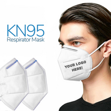 Load image into Gallery viewer, Custom Logo N95 Grade Face Mask For Ultimate Protection Promotional KN95 Face Mask
