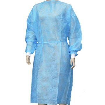 Bulk Disposable Gown Protective Suit For Body Isolation Universal Size Gowns