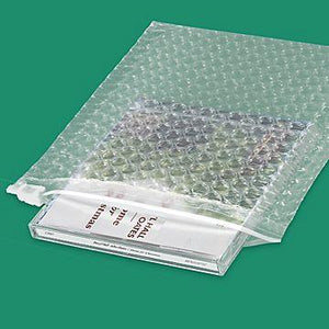 Custom Logo Single Layer Clear Bubble Bags