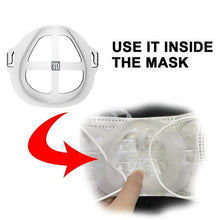 Load image into Gallery viewer, 3D Bracket Lipstick Protection Cool Mask Bracket - 5pcs Pack