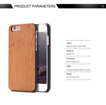 Load image into Gallery viewer, Bulk Blank Wood Phone Cases, Wood Cases For All Iphone & Samsung Models