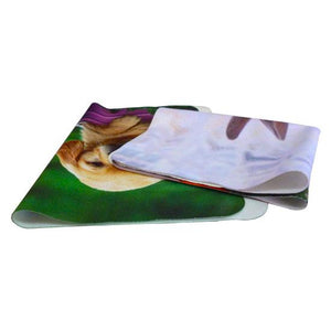 Custom Logo Ultra Thin Reusable and Adjustable Stick Ultra Thin Mouse Pad