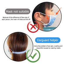 Load image into Gallery viewer, Custom Logo Printed Face Mask Ear Savers