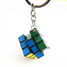 Load image into Gallery viewer, Mini 3x3 Cube Keychains, 1.2 Inch Speed Rubik's Key Ring, 12 Pcs