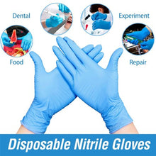 Load image into Gallery viewer, Wholesale Disposable Gloves, Blue Medical Grade Disposable 1000 Gloves Case