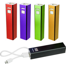 Load image into Gallery viewer, Promotional Custom Logo Power Banks Portable USB Charger
