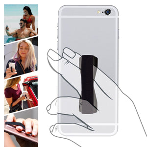 One Finger Universal Phone, Tablet Grip Strap