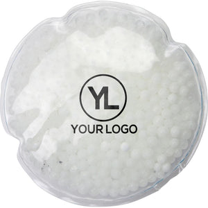 Promotional Custom Logo Round Gel Beads Hot or Cold Pack