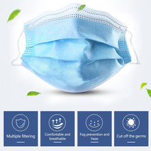 Load image into Gallery viewer, Bulk Disposable Face Mask 3 Layers For Kids, Bulk Kid's Earloop Disposable Masks