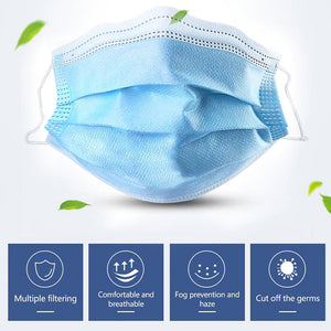 Bulk Disposable Face Mask 3 Layers For Kids, Bulk Kid's Earloop Disposable Masks
