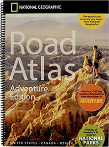 National Geographic Road Atlas 2020