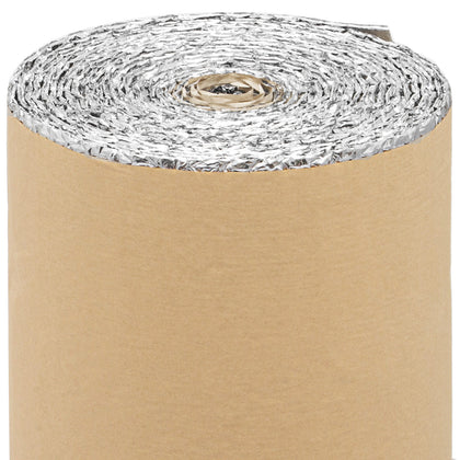 Self Adhesive Bubble Foil Insulation 40inx52ft Sola-guard Residential Wall
