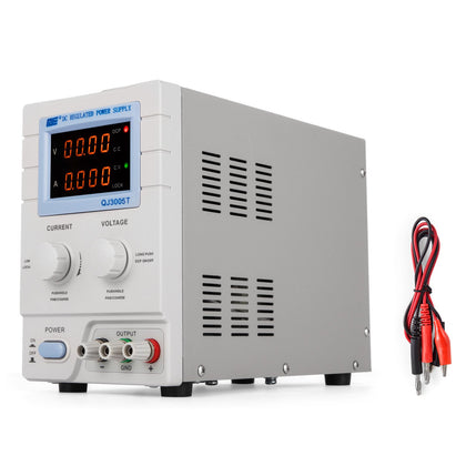 Alimentatore Da Banco Qj3005t 30v 0 - 5a Display Digitale Dc Power Supply