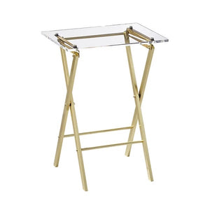 Alvie Acrylic Folding Table