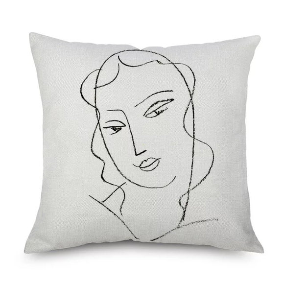 Louisse Cushion Cover (throw pillow case)