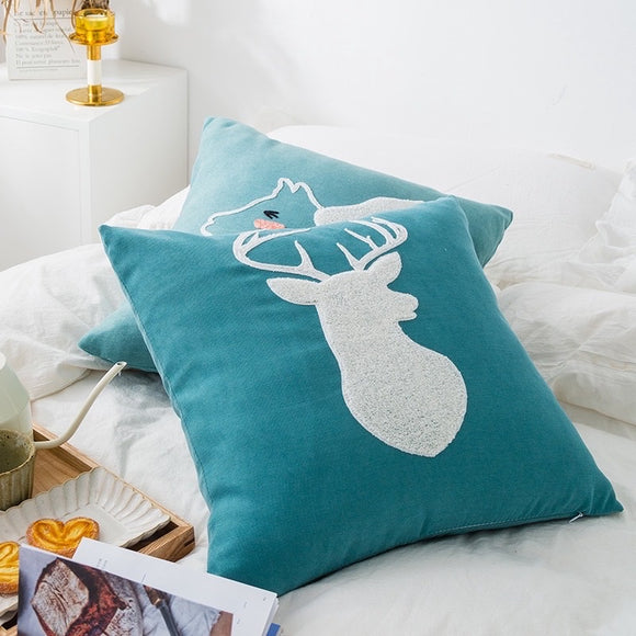 Deer Cushion Cover (pillow case)